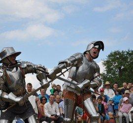 Gerüstetes Fechten im halben Schwert